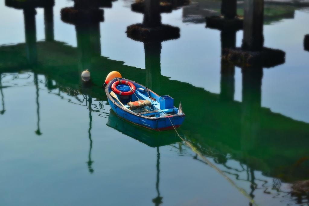 El bote para una siesta